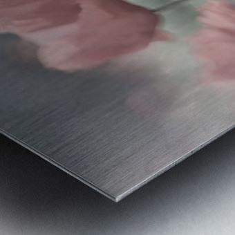 Softly Metal print