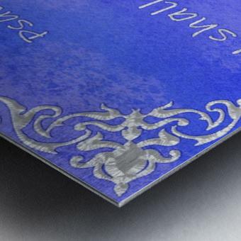 Psalm 118 17 1BL Metal print
