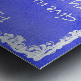 Psalm 29 2 8BL Metal print