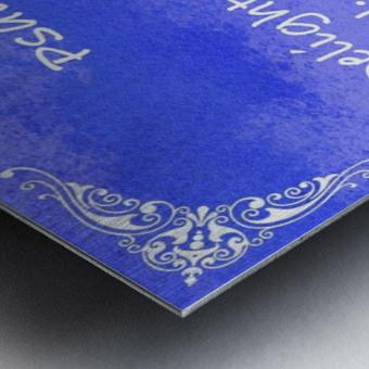 Psalm 37 4 5BL Metal print