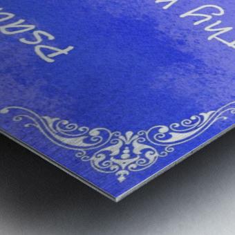 Psalm 119 11 5BL Metal print