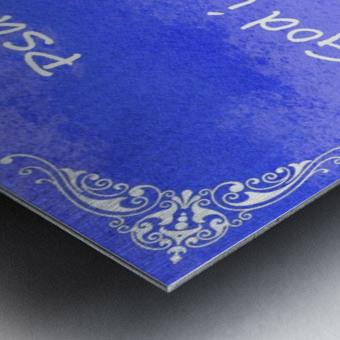 Psalm 46 1 5BL Metal print