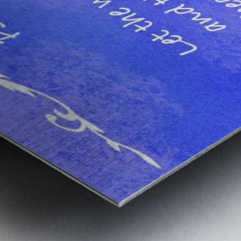 Psalm 19 14 3BL Metal print