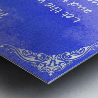 Psalm 19 14 5BL Metal print