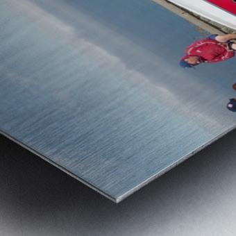 GMC Sprint Utility Pickup coupe combo Metal print
