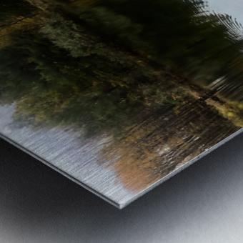 FALL RETREAT Metal print