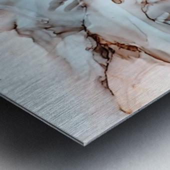 Desert Bluff Metal print