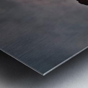 Leilani Estates Lava fountain Metal print