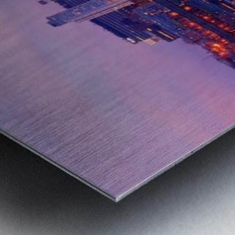 LIV 007 Liverpool Skyline   PANORAMIC_1549590966.45 Metal print