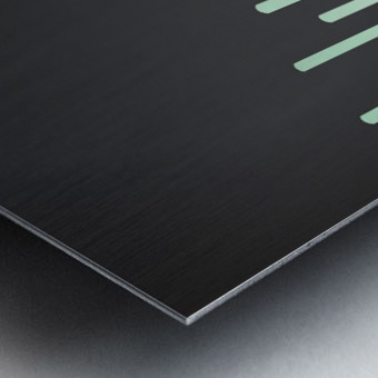 Pista Melting Tone Metal print