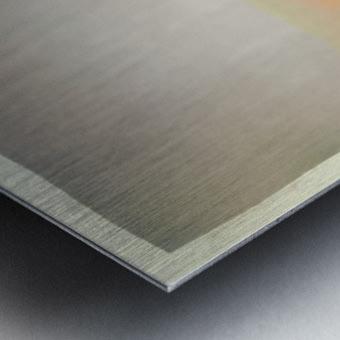 Stratified Metal print