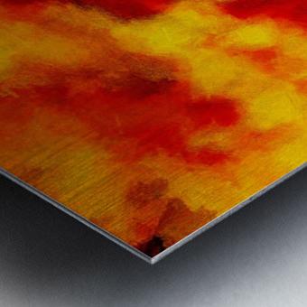 Inferno Metal print