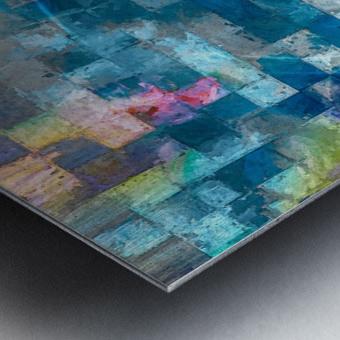 A Vision in Blue Metal print