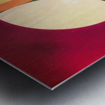Composition Planétaire Metal print