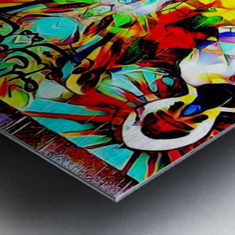 astrally activated Metal print