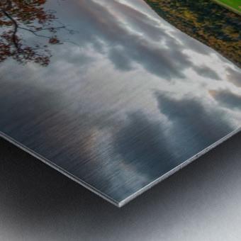 Serene Valley Metal print