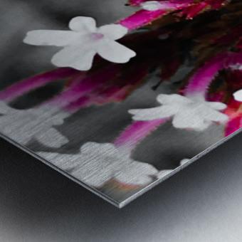 White bloom Impression metal