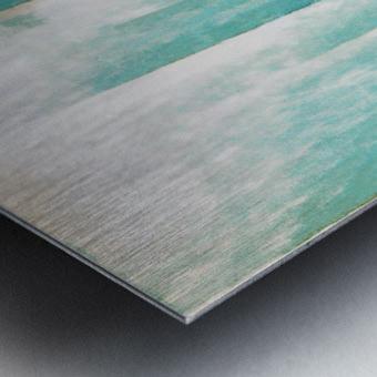 Composition Patinée Metal print