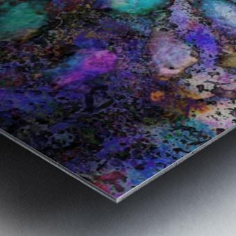 Paw Prints Soft Colours Metal print