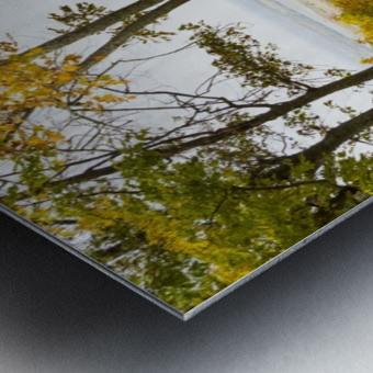 View of Ottawa Valley in Autumn 33 Metal print