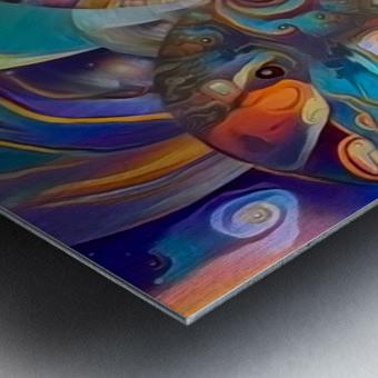 Vivid Illusion Metal print