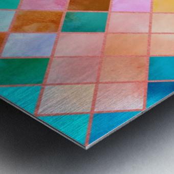 Geometric XXXX Metal print
