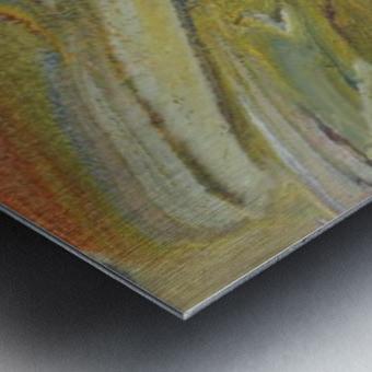 Rainbow Tornado Metal print