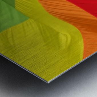 Material Metal print