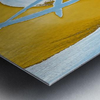 Energy Flow Metal print