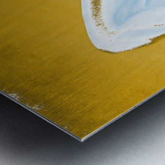 Ecstasy In Gold And Ice Metal print