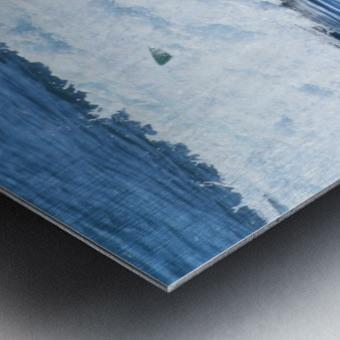 Catch a Wave Metal print