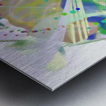 New Popular Beautiful Patterns Cool Design Best Abstract Art (4) Metal print