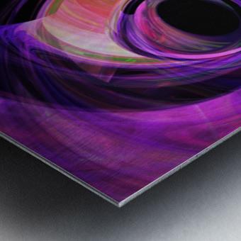 Abstract rendered artwork 3 Metal print