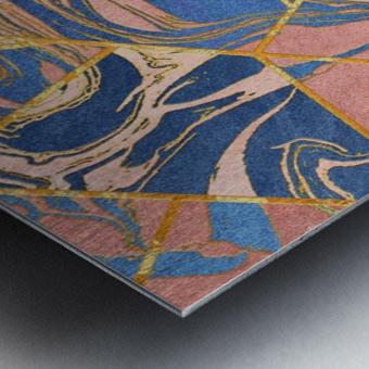 Geometric XXXXIV Metal print