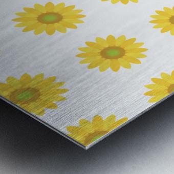 Sunflower (4) Metal print