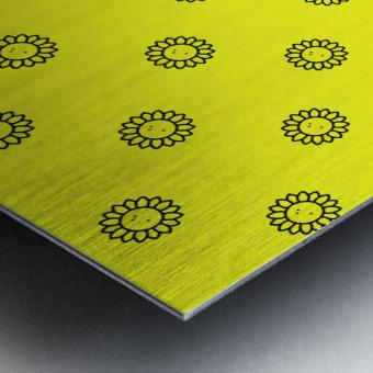Sunflower (25)_1559876483.2865 Metal print