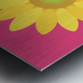 Sunflower (10)_1559876455.9347 Metal print