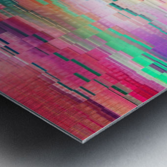 Vivid Pattern XVI Metal print