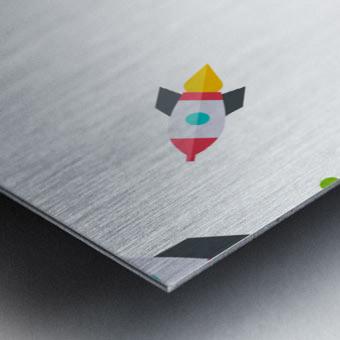 Space (13) Metal print