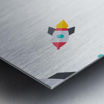 Space (15) Metal print