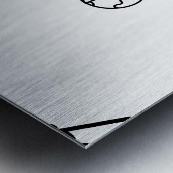 Space (12) Metal print