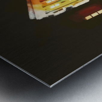 BERLIN_View  076 Metal print