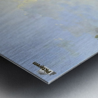 The Thames Metal print