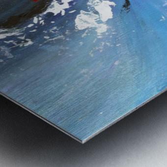 Abstract 165 Metal print