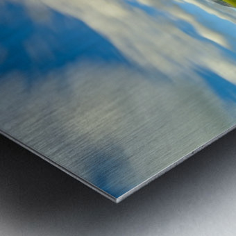 Long Exposure Goodenough Canyon Metal print
