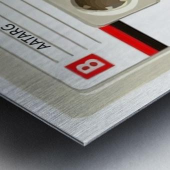 cassette tape recorder vintage old Metal print