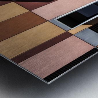 architectural design architecture building colors Metal print