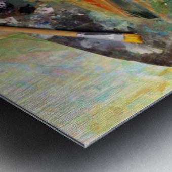 Brush Art Metal print