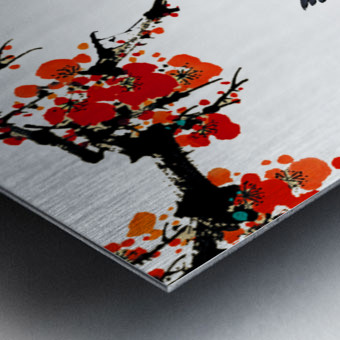 Chinese Concept 25A Metal print