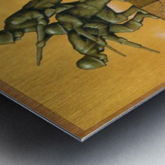 Monument Metal print